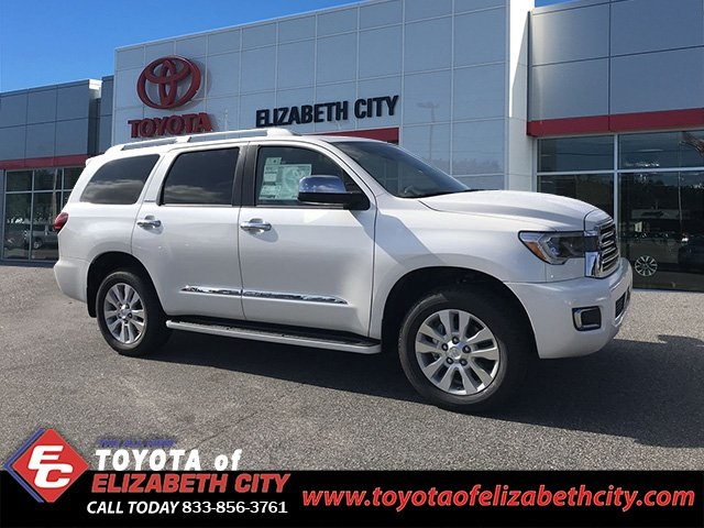 New 2019 Toyota Sequoia Platinum 4d Sport Utility In Elizabeth City
